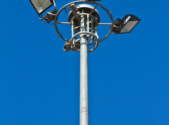 torres de iluminação