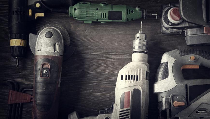aluguel de ferramentas em obras