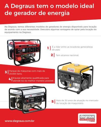 comprar um gerador de energia