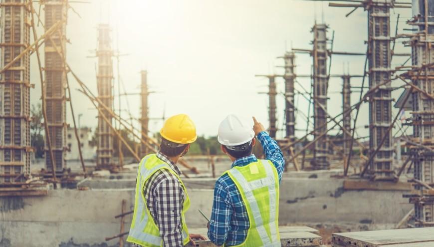 equipamentos de construção cívil