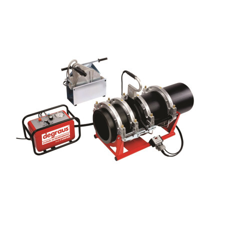 Máquina de Solda por Termofusão - Tubos de 90 a 315 mm